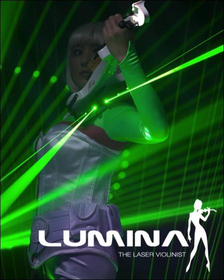 Lumina The Laser Violinist